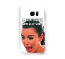 Kim crying old phone Samsung Galaxy Case/Skin