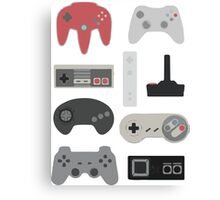 Vintage Gaming Classic Canvas Print