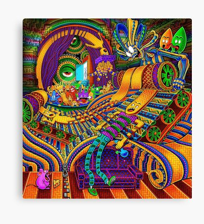 The Conductor of Consciousness Canvas Print