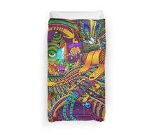 The Conductor of Consciousness Duvet Cover