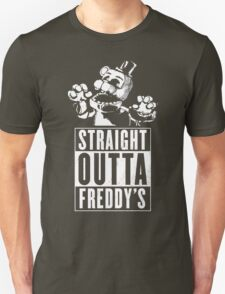 Straight Outta Freddy's Unisex T-Shirt