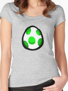 Yoshi Egg Women's Fitted Scoop T-Shirt