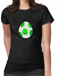 Yoshi Egg Womens Fitted T-Shirt