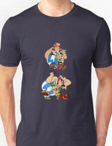 Asterix Obelix Idefix Cartoon T-Shirt