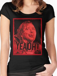 YEAOH! Women's Fitted Scoop T-Shirt