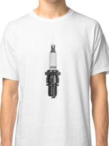 ASH VS EVIL DEAD Pablo Spark Plug NGK R Classic T-Shirt