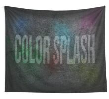 Color Splash Wall Tapestry