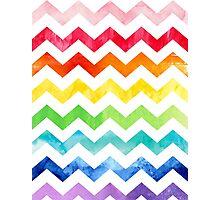Rainbow Watercolour! Photographic Print