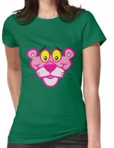 Pink Panther Womens Fitted T-Shirt