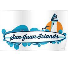 San Juan Islands. Poster
