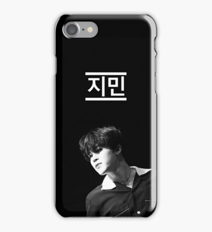 BTS Jimin Black and White Phone Case iPhone Case/Skin