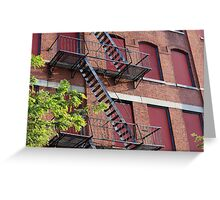 Abandoned Building in Bed-Stuy Greeting Card