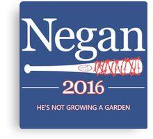 Negan 2016 (The Walking Dead) Canvas Print