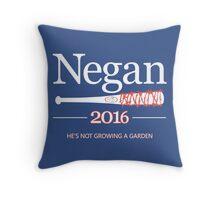 Negan 2016 (The Walking Dead) Throw Pillow
