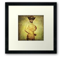 Touchy Subject  Framed Print