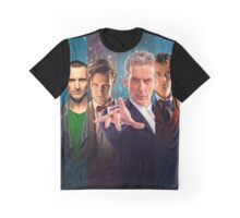Doctor Who - All 13 Doctors Graphic T-Shirt