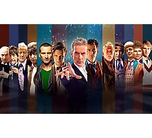 Doctor Who - All 13 Doctors Photographic Print