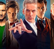 Doctor Who - All 13 Doctors Sticker