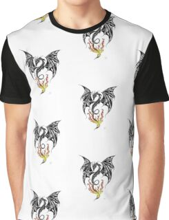 dragon flame Graphic T-Shirt