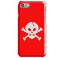 8 Bit Skull iPhone Case/Skin