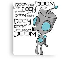 Gir Doom Song  Canvas Print