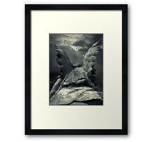 Separating Heaven And Earth Framed Print