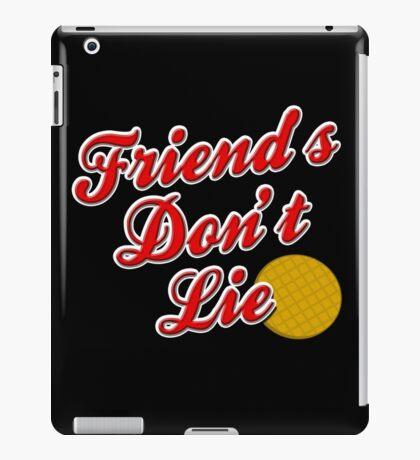 Friend's Don't Lie iPad Case/Skin