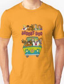Scooby Cartoon Scooby-Doo T-Shirt