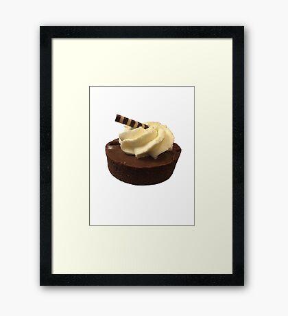 Mini Cupcake Framed Print