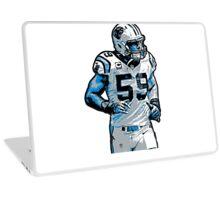 Luke Kuechly Fan Art (T-Shirts, Phone cases & more) Laptop Skin