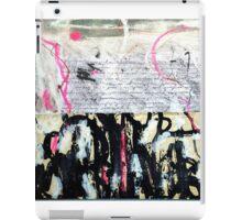 French Bond iPad Case/Skin