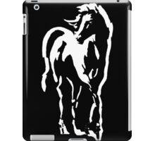 stallion on dark tee iPad Case/Skin