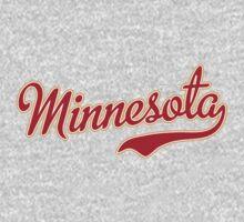 Minnesota Script Crimson by USAswagg