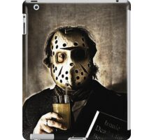 it's not all stab stab slash stab iPad Case/Skin