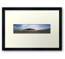 Burgh Island Pan Framed Print