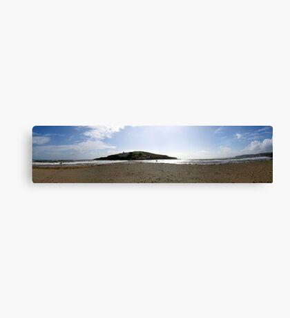 Burgh Island Pan Canvas Print