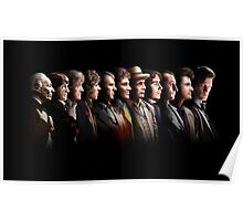 Doctor Who - the Eleven Doctors Poster