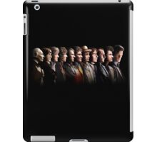 Doctor Who - the Eleven Doctors iPad Case/Skin