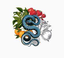 Antique Snake & Fruit Collage  Unisex T-Shirt