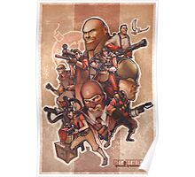 Team Fortress 2 Concept Art Poster Poster
