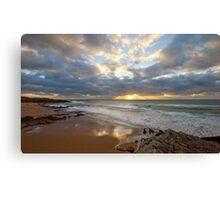 Guincho. Beach light Canvas Print