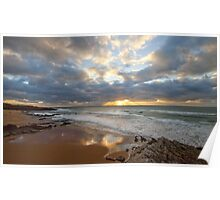 Guincho. Beach light Poster
