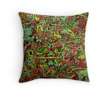 Birdwatching in the 4th Dimension 2016 Throw Pillow