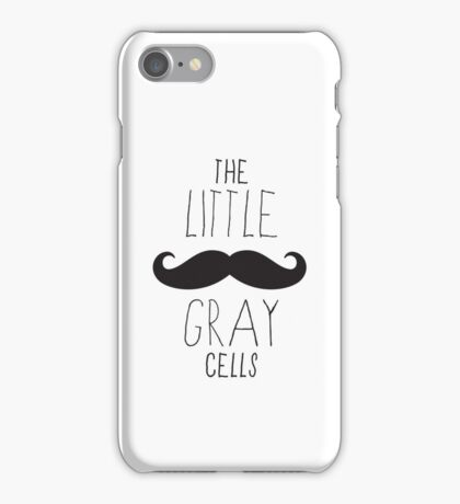 Poirot - The Little Gray Cells iPhone Case/Skin
