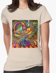 The Conductor of Consciousness Womens Fitted T-Shirt
