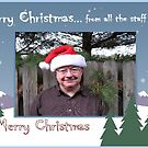 """Merry Christmas... from all the staff (me)""... prints and products by © Bob Hall"