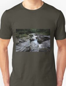 Stream and Rocks in PA Unisex T-Shirt
