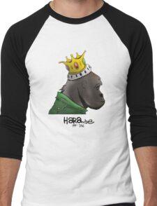 King Harambe (Gorillaz Style) Men's Baseball ¾ T-Shirt