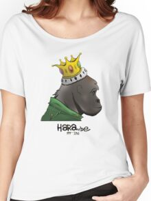 King Harambe (Gorillaz Style) Women's Relaxed Fit T-Shirt