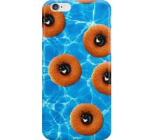 Floating Cat Donut Party iPhone Case/Skin